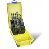 Bordo 2007-M3 HSS Bright 25 Piece Drill Set 1-13mm