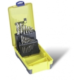 Bordo 2007-M5 HSS Bright 19 Piece Drill Set 1-13mm