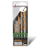 Bordo 2700-s1 Universal Drill Set- Metric 5 Piece