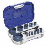 Bordo 7010-S3 Hole Saw kit- Plumbers Pipe set