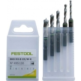 FESTOOL CENTROTEC Drill bit case BKS D 3-8 CE/W-K