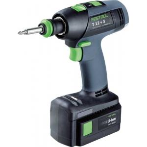 FESTOOL Cordless drills T 12+3 Li 3,0 Plus AUS