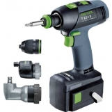 FESTOOL Cordless drills T 12+3 Li 3,0 Set