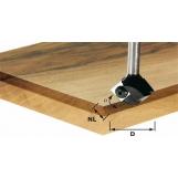 FESTOOL Turning plate chamfer cutter HW HW 22° D 24/12 S8 OFK 700