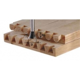 FESTOOL Dovetail cutter HW shank 8 mm HW S8 D20/17/15°