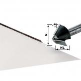 FESTOOL Chamfer cutter HW HW 22° D 24/14 S8 OFK 700