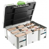 FESTOOL DOMINO XL beechwood assortment DS/XL D8/D10 306 BU