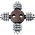 PROTOOL Tungsten-carbide machine/tool head FZ-RGP 80