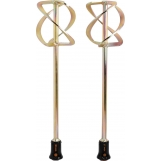 PROTOOL Dual Rods: Double stirring rods - HS 3 Double 140 x 600 FastFix